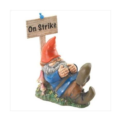 On Strike Sleeping Gnome (pack of 1 EA)