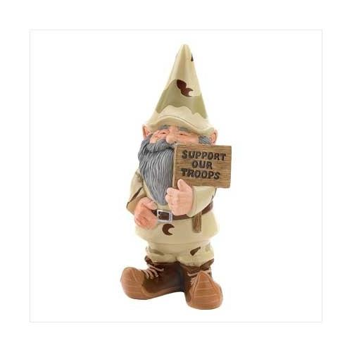 Support Our Troops Garden Gnome (pack of 1 EA)