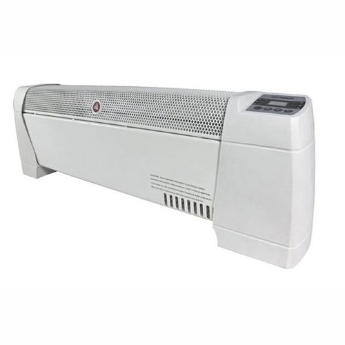 Optimus 30 in. Baseboard Convection Heater with Digital Display and Thermostat