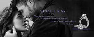 Scott Kay Engagement Rings Banner - never compromise - shop now - Birmingham Jewelry