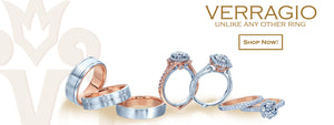Verragio Rings and Wedding Bands Banner - Shop Now - Birmingham Jewelry