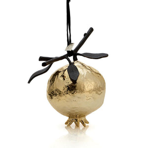 Michael Aram - Pomegranate Ornament Gold, Home Decor, Michael Aram - Birmingham Jewelry