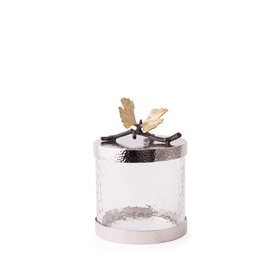 Michael Aram - Butterfly Ginkgo Canister Extra Small - Birmingham Jewelry