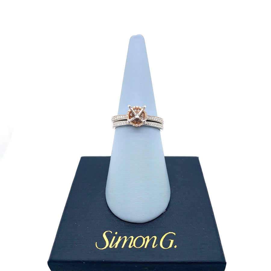 Simon G Simon G - MR2530 Engagement Ring Set - Birmingham Jewelry