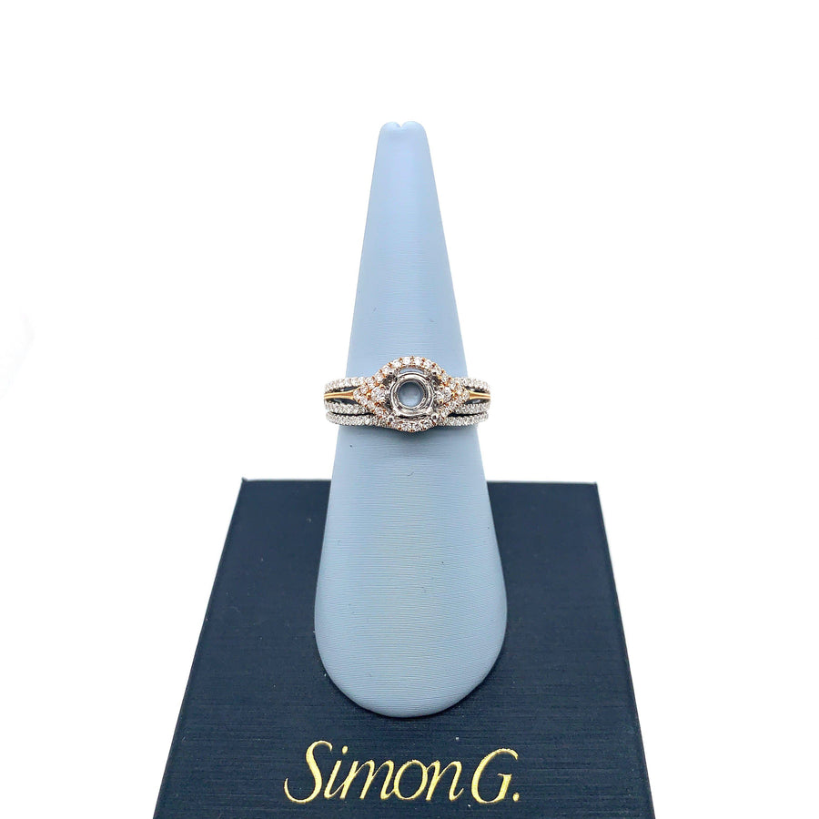 Simon G Simon G - MR1815 Engagement Ring Set - Birmingham Jewelry