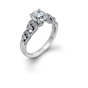 ZEGHANI - ZR618, Engagement Ring, ZEGHANI - Birmingham Jewelry