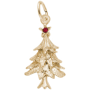 Rembrandt Charms - Christmas Tree Charm- 2361