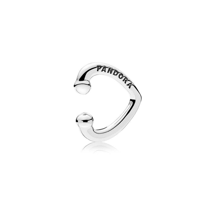 Pandora - 297214 - Open Heart Ear Cuff