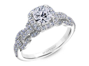 SCOTT KAY Scott Kay - SK6034 - Embrace Engagement Ring - Birmingham Jewelry