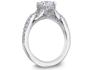 SCOTT KAY Scott Kay - SK6035 - Embrace Engagement Ring - Birmingham Jewelry