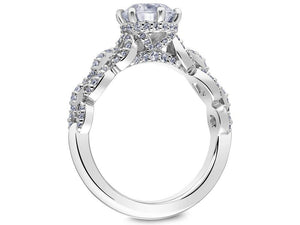 SCOTT KAY Scott Kay - SK6037 - Embrace Engagement Ring - Birmingham Jewelry