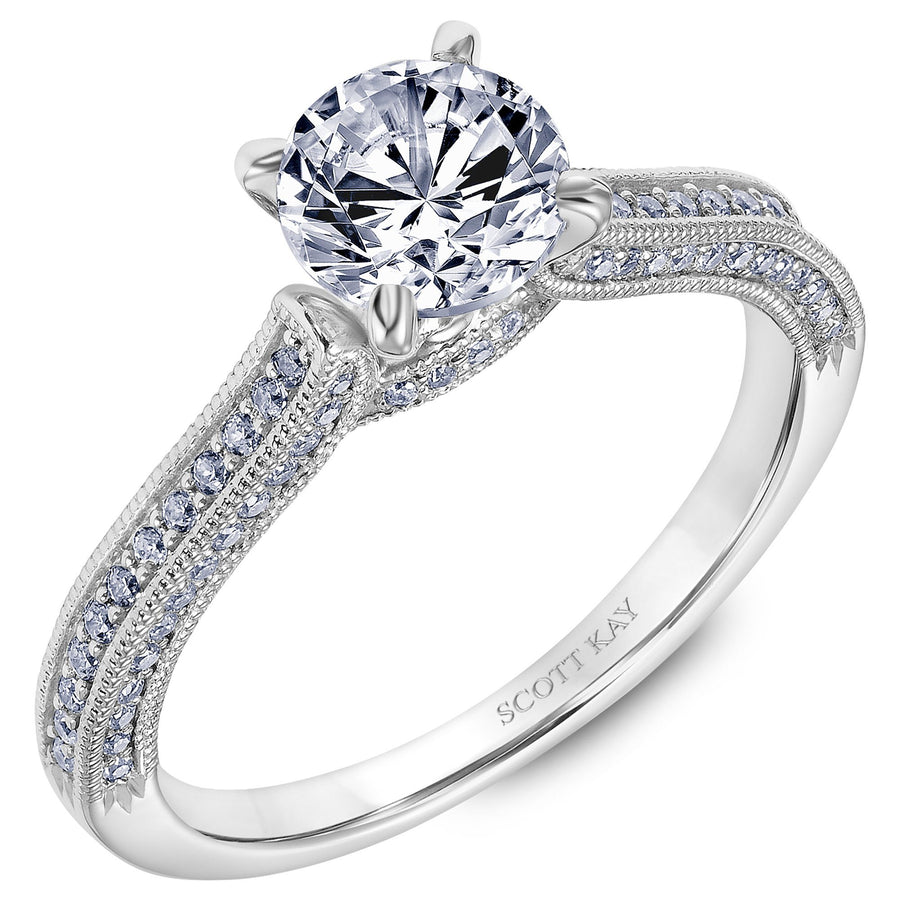 SCOTT KAY Scott Kay - SK6725 - Luminaire Engagement Ring - Birmingham Jewelry