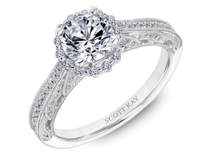 Scott Kay - SK8041 - Parisi (1.00ct), Engagement Ring, SCOTT KAY - Birmingham Jewelry