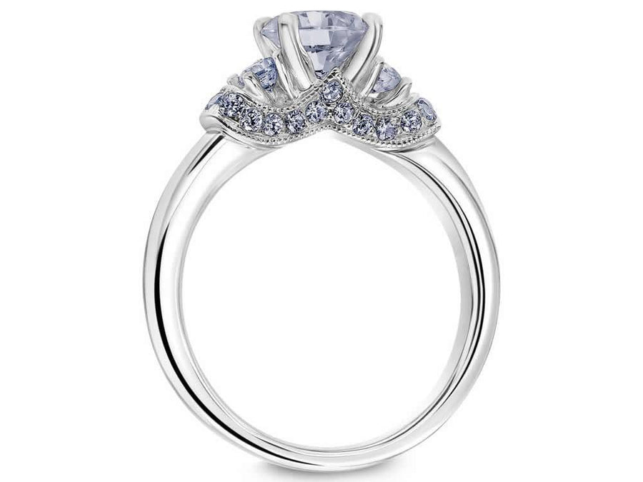 Scott Kay - SK8055 - Crown Setting, Engagement Ring, SCOTT KAY - Birmingham Jewelry