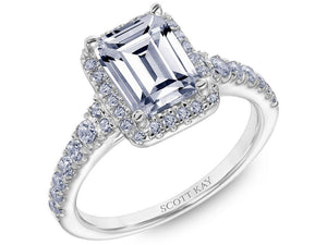 Scott Kay - SK8057 - Luminaire, Engagement Ring, SCOTT KAY - Birmingham Jewelry