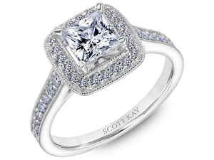 Scott Kay - SK8105 - Embrace, Engagement Ring, SCOTT KAY - Birmingham Jewelry