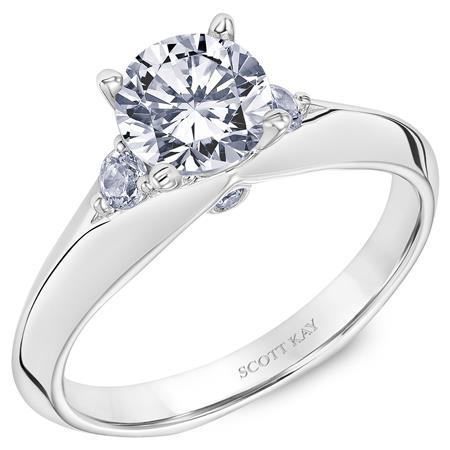 Scott Kay - SK8128 - Namaste, Engagement Ring, SCOTT KAY - Birmingham Jewelry
