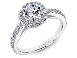 Scott Kay - SK8239 - Luminaire (1.00ct), Engagement Ring, SCOTT KAY - Birmingham Jewelry