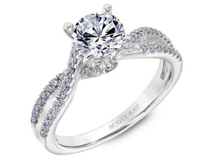 Scott Kay - SK8342 - Luminaire, Engagement Ring, SCOTT KAY - Birmingham Jewelry