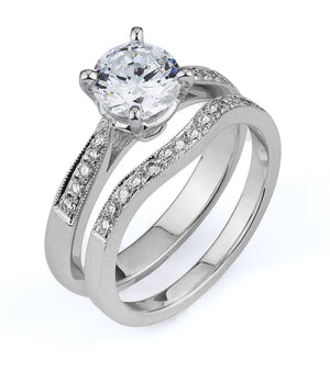 Supreme Jewelry Supreme - 4277S-28226 Engagement Ring Set - Birmingham Jewelry