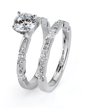 Supreme - 5020, Engagement Ring Set, Supreme Jewelry - Birmingham Jewelry