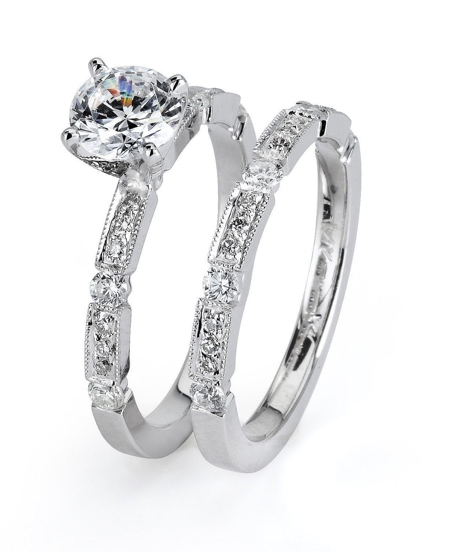 Supreme Jewelry Supreme - 5020 Engagement Ring Set - Birmingham Jewelry