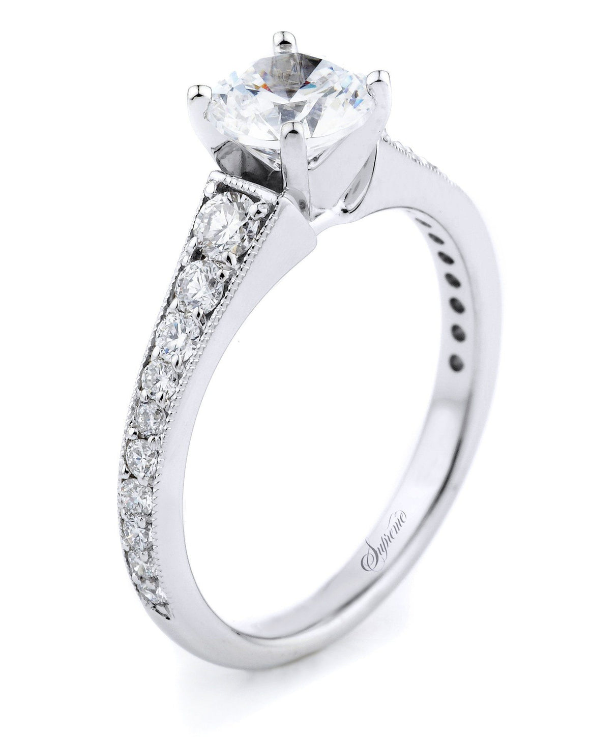 Supreme - 5292E, Engagement Ring, Supreme Jewelry - Birmingham Jewelry
