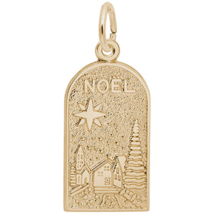 Rembrandt Charms - Noel Christmas Scene Charm - 6425
