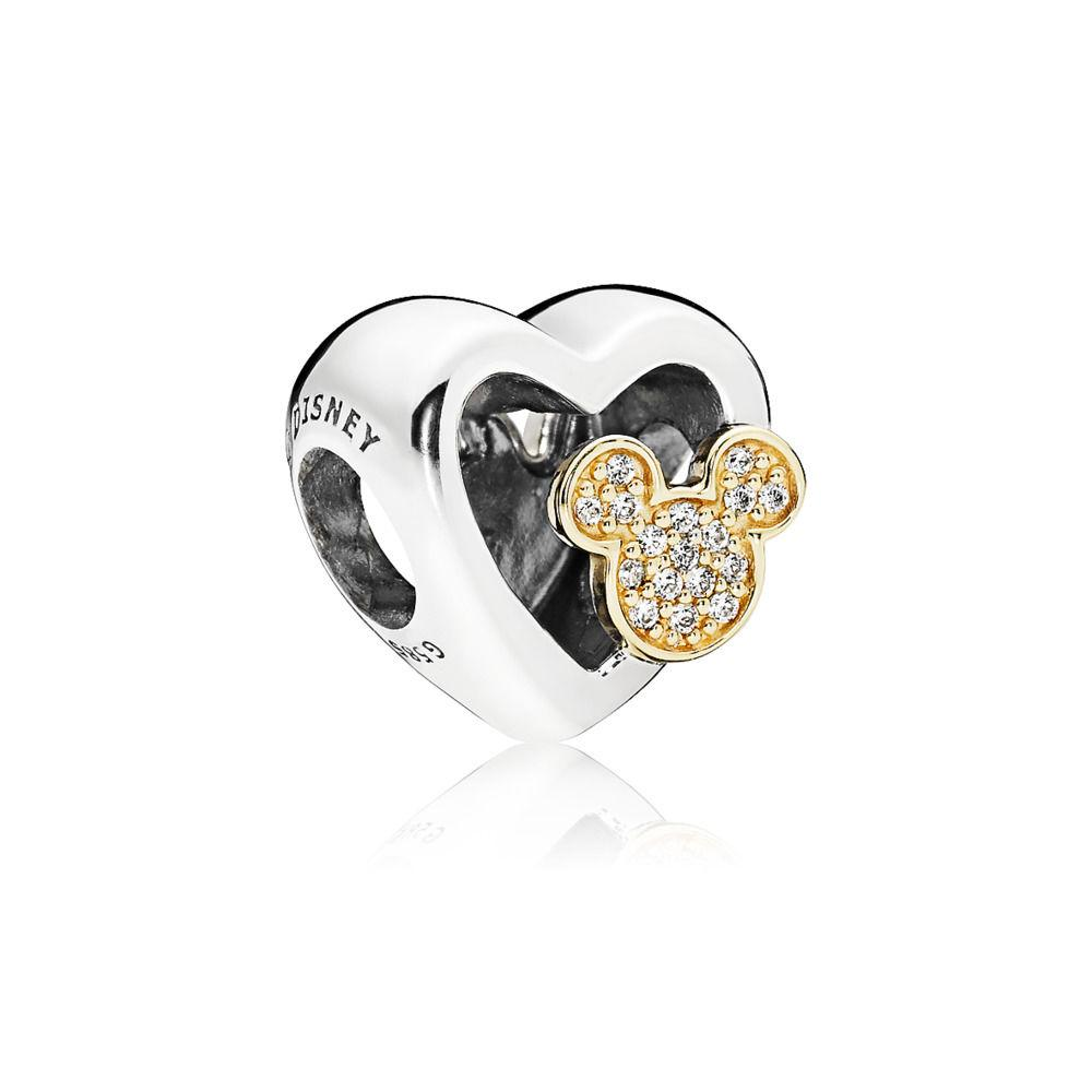 Pandora - 796463CZ - Limited Edition Disney Mickey & Minnie Love Icons Charm