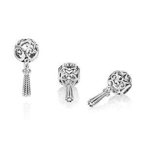 Pandora - 797037 - Enchanted Heart Tassel Charm