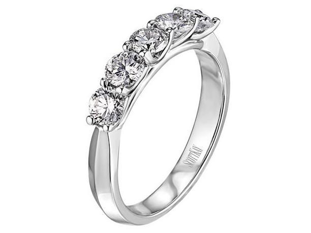 SCOTT KAY Scott Kay - SK7311 - Crown Setting 1.00ct (Band) Wedding Band - Birmingham Jewelry