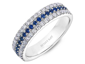 SCOTT KAY Scott Kay - SK7199 - Luminaire Wedding Band - Birmingham Jewelry