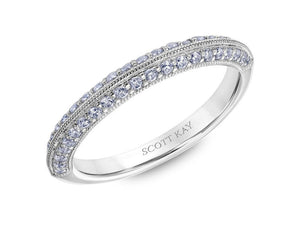 SCOTT KAY Scott Kay - SK6026 - Luminaire (Band) Wedding Band - Birmingham Jewelry