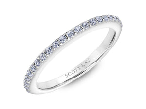 SCOTT KAY Scott Kay - SK6039 - Luminaire (Band) Wedding Band - Birmingham Jewelry
