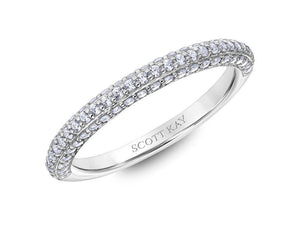 SCOTT KAY Scott Kay - SK6021 - Heaven's Gates (Band) Wedding Band - Birmingham Jewelry