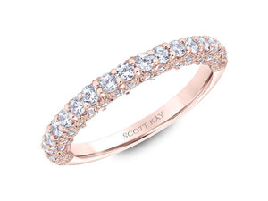 Scott Kay - SK6019 - Heaven's Gates (Band), Wedding Band, SCOTT KAY - Birmingham Jewelry