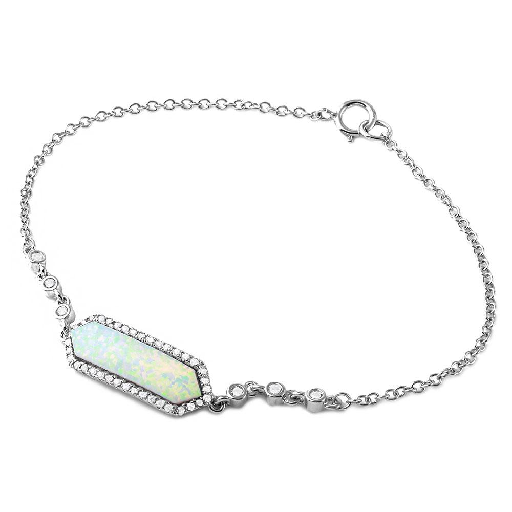 pink her stone silver sterling australian for untitled bracelet opal gifts kaj product home items fire tennis under woman