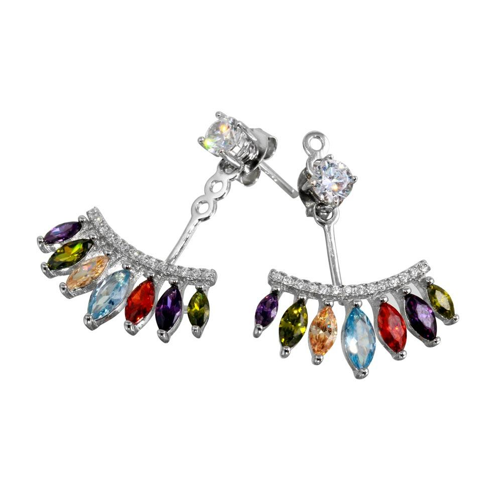 multicolor ama multi home all products color earrings shop bossa