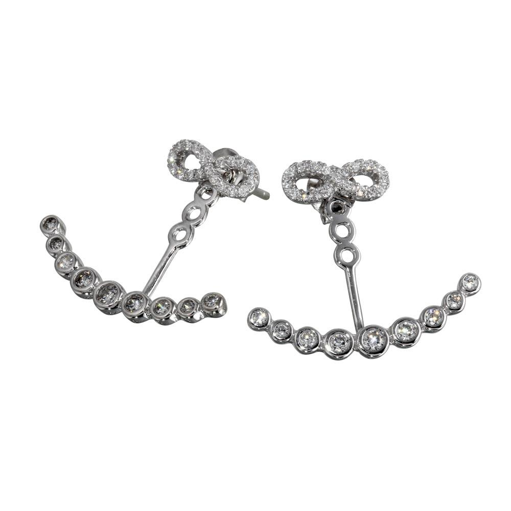 your our women com plated silver kinds product meet cheap which heart infinity online offers dhgate looking will shop earrings for needs all stud of