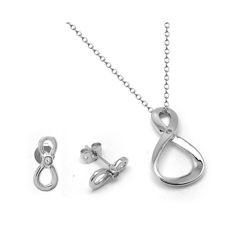 Figure 8 Infinity Set - Birmingham Jewelry