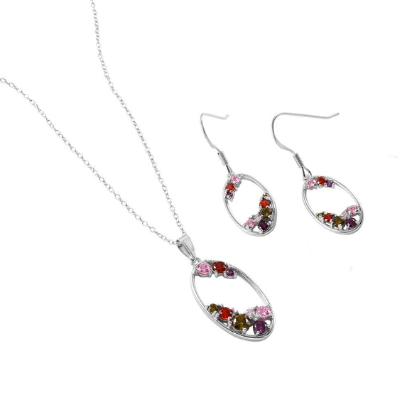Multi-Colored Cz Set