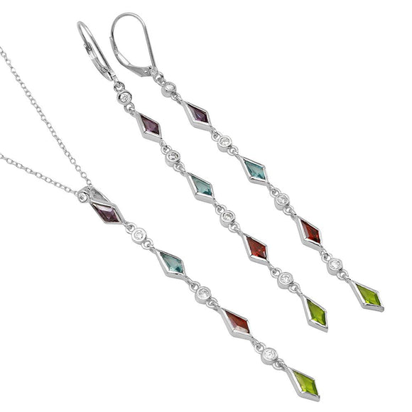 Multi Color Cz Set