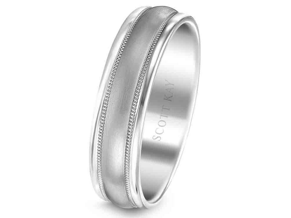 Scott Kay - SK7716 - Luminaire, Wedding Band, SCOTT KAY - Birmingham Jewelry