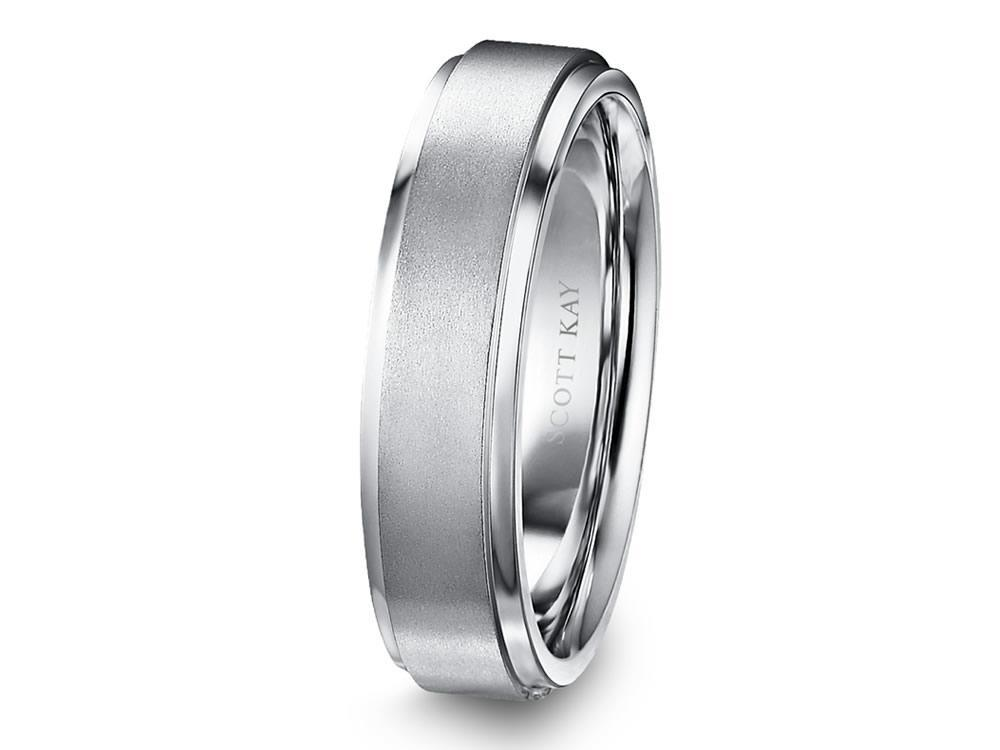 Scott Kay - SK7715W - Luminaire, Wedding Band, SCOTT KAY - Birmingham Jewelry