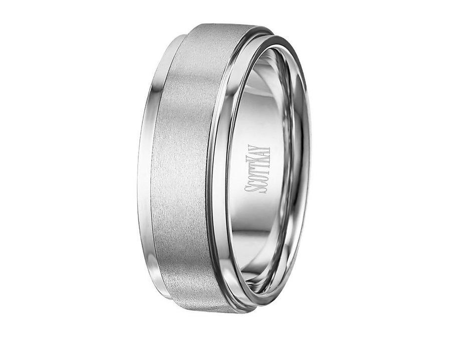 SCOTT KAY Scott Kay - SK7715 - Luminaire (8mm) Wedding Band - Birmingham Jewelry
