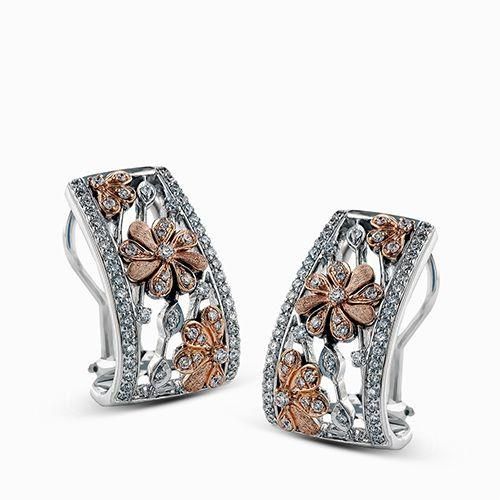 Simon G Simon G - DE215 Women's Earrings - Birmingham Jewelry