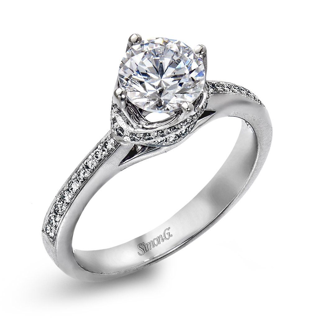 Simon G - DR167, Engagement Ring, Simon G - Birmingham Jewelry
