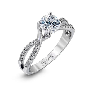 Simon G - DR234-D, Engagement Ring, Simon G - Birmingham Jewelry
