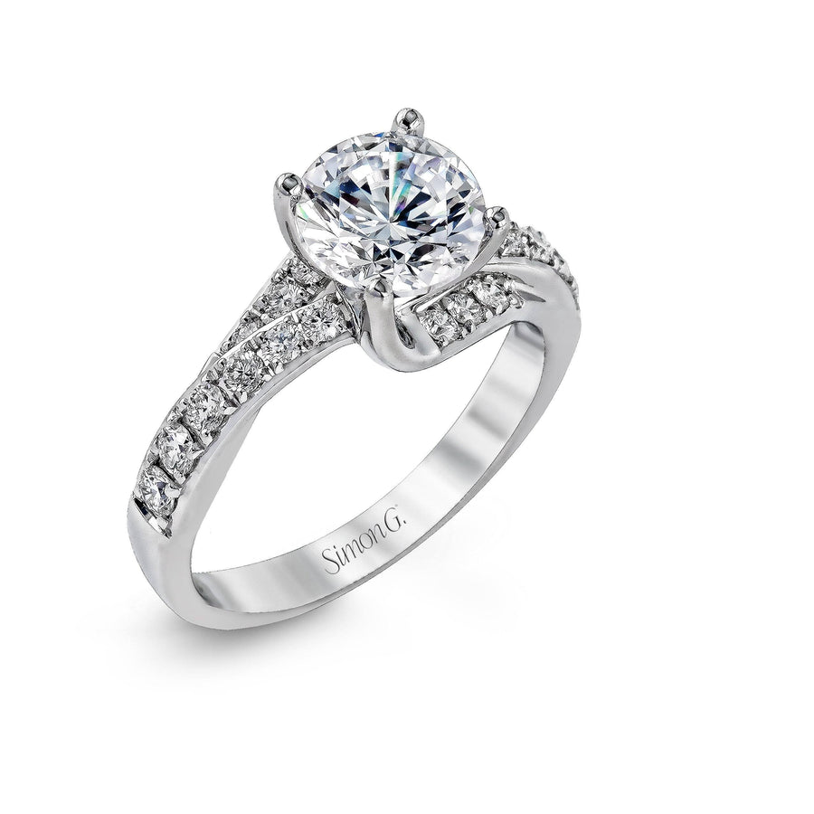 Simon G Simon G - DR237 Engagement Ring - Birmingham Jewelry