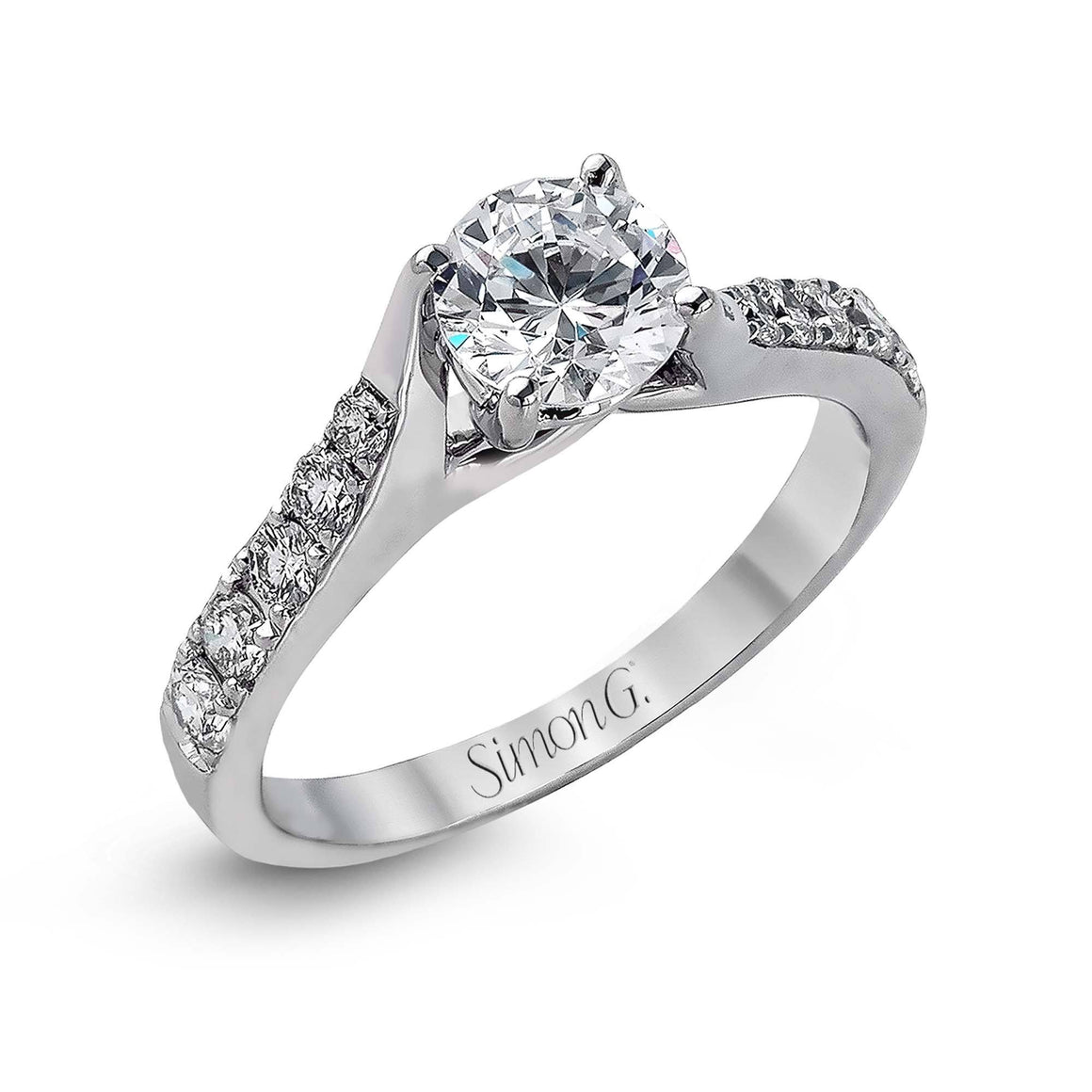 Simon G -MR238, Engagement Ring, Simon G - Birmingham Jewelry